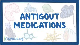 Video poster for Antigout medications