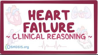Video poster for Clinical Reasoning: Heart Failure