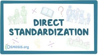 Video poster for Direct standardization