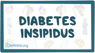 Video poster for Diabetes insipidus