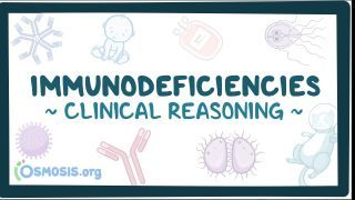 Video poster for Clinical Reasoning: Immunodeficiency