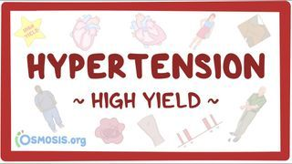 Video poster for High Yield: Hypertension