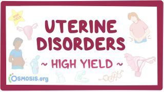 Video poster for High Yield: Uterine disorders