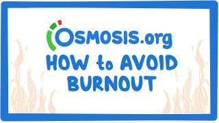 Video poster for Clinician's Corner: How to avoid burnout