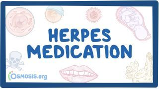 Video poster for Herpes medications