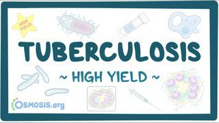 Video poster for High Yield: Tuberculosis