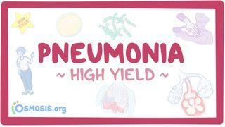 Video poster for High Yield: Pneumonia