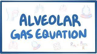 Video poster for Alveolar gas equation