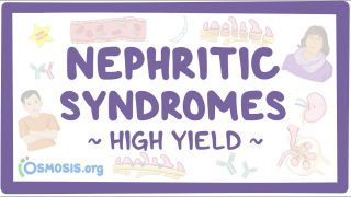 Video poster for High Yield: Nephritic syndromes
