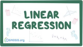 Video poster for Linear regression