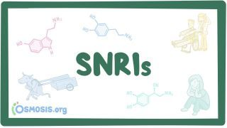 Video poster for Serotonin and norepinephrine reuptake inhibitors