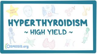 Video poster for High Yield: Hyperthyroidism