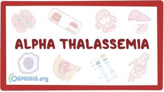 Video poster for Alpha-thalassemia