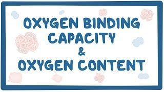 Video poster for Oxygen binding capacity and oxygen content