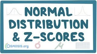 Video poster for Normal distribution and z-scores