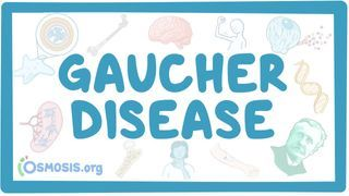 Video poster for Gaucher disease