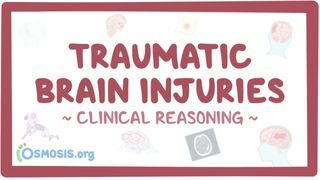 Video poster for Clinical Reasoning: Traumatic brain injury
