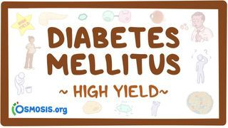 Video poster for High Yield: Diabetes mellitus