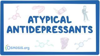 Video poster for Atypical antidepressants