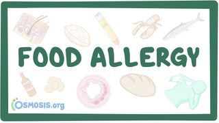 Video poster for Food allergy