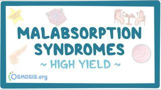 Video poster for High Yield: Malabsorption syndromes
