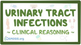 Video poster for Clinical Reasoning: Urinary tract infections
