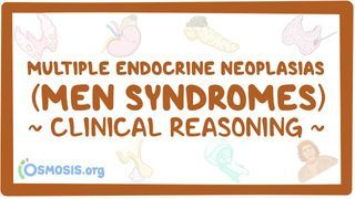 Video poster for Clinical Reasoning: MEN syndromes