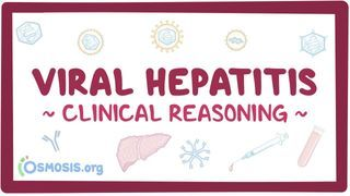 Video poster for Clinical Reasoning: Viral hepatitis