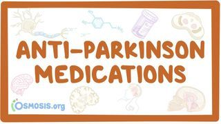 Video poster for Anti-parkinson medications