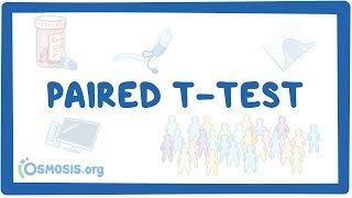Video poster for Paired t-test