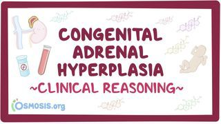 Video poster for Clinical Reasoning: Congenital adrenal hyperplasia
