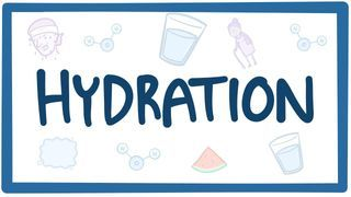 Video poster for Hydration