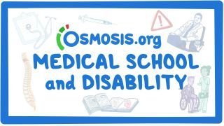 Video poster for Clinician's Corner: Medical School and Disability