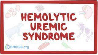 Video poster for Hemolytic-uremic syndrome