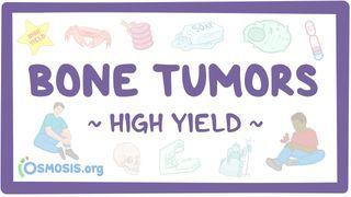Video poster for High Yield: Bone tumors