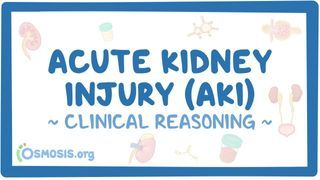 Video poster for Clinical Reasoning: Acute kidney injury