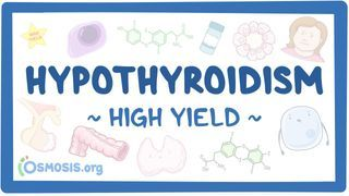 Video poster for High Yield: Hypothyroidism
