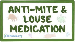 Video poster for Anti-mite and louse medications