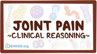 Video poster for Clinical Reasoning: Joint pain