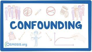 Video poster for Confounding