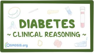 Video poster for Clinical Reasoning: Diabetes mellitus