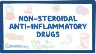 Video poster for Non-steroidal anti-inflammatory drugs