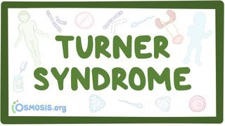 Video poster for Turner syndrome
