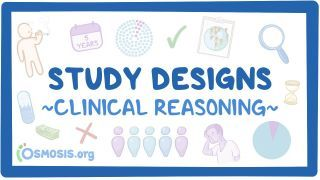 Video poster for Clinical Reasoning: Study designs