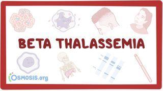Video poster for Beta-thalassemia