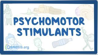 Video poster for Psychomotor stimulants