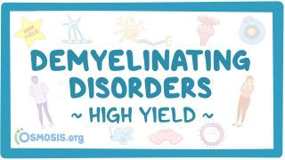 Video poster for High Yield: Demyelinating disorders