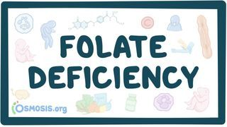Video poster for Folate (Vitamin B9) deficiency