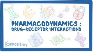 Video poster for Pharmacodynamics: Drug-receptor interactions