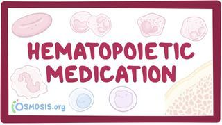 Video poster for Hematopoietic medications